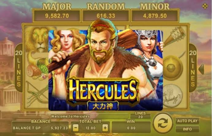 Tingkat Taruhan Slot Hercules